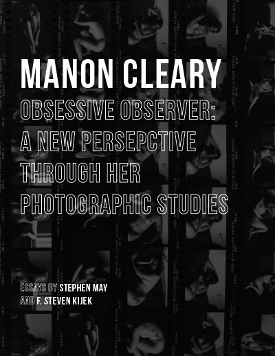"""Manon Cleary - Obsessive Observer: A New Perspective Through Her Photographic Studies"" catalogue cover"