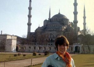 Manon Cleary in Istanbul, Turkey, 1968