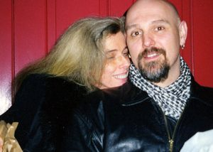 Manon with her husband, F. Steven Kijek