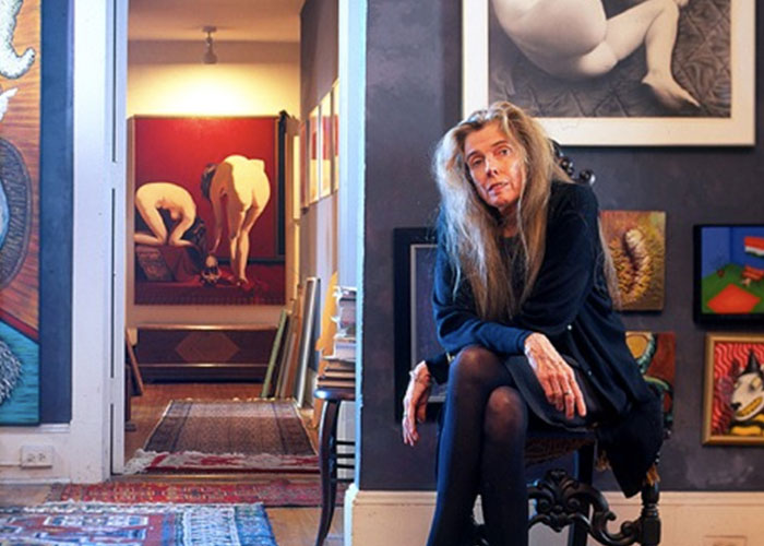 Manon at her home. Photo © Ron Blunt.