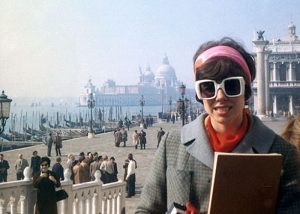 Manon Cleary in Venice, Italy, 1968